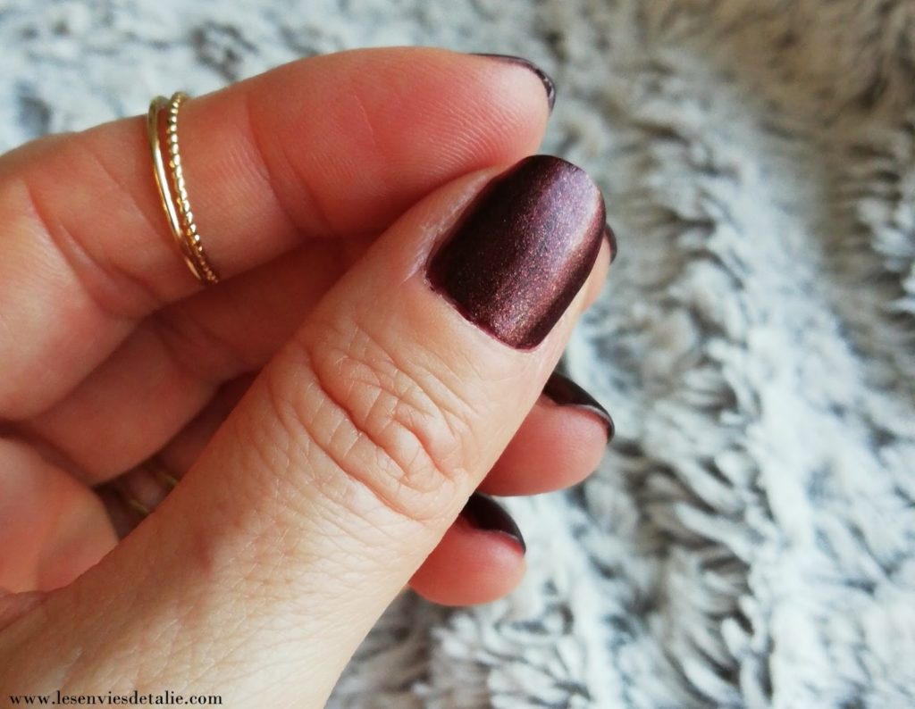 swatch teinte Great Smoky Vernis Nude experience